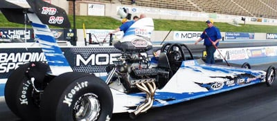 Nicoletti Motorsports Drag Racing Driver Website