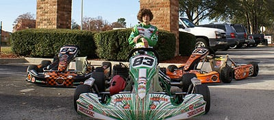 Justin K Racing Kart Racing Driver Website