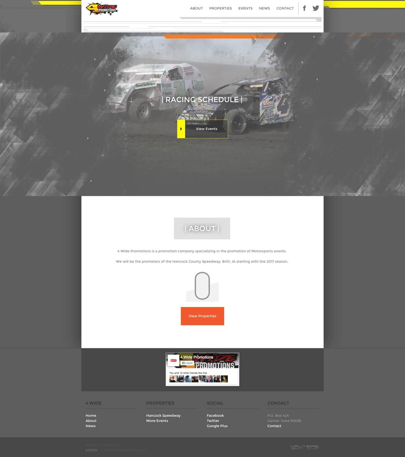 2016 Website Designs - Walters Web Design