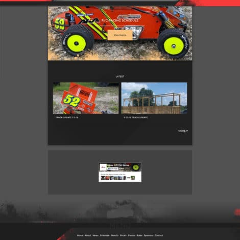 2016 Allstar RC Dirt Series Website - Walters Web Design