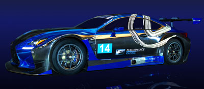 Lexus F Performance Racing IMSA Team Website