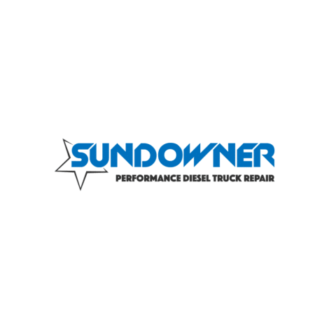 Sundowner Performance Diesel Truck Repair Logo