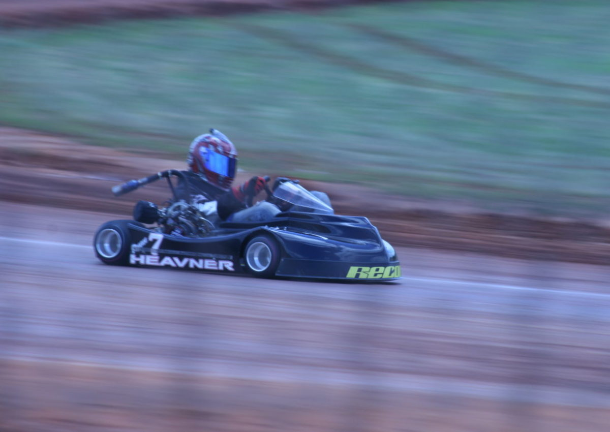 Ryan Heavner Returns to Kart Racing